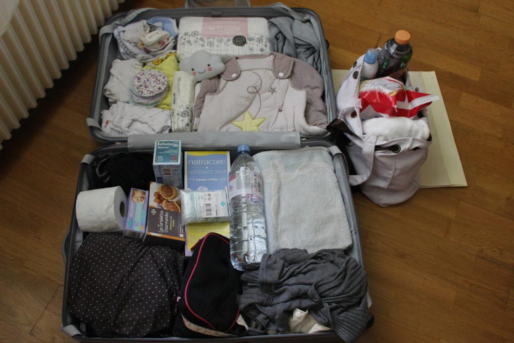 liste de la valise de maternité